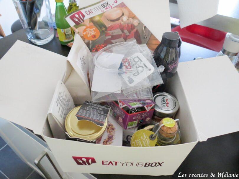 Box gourmandes