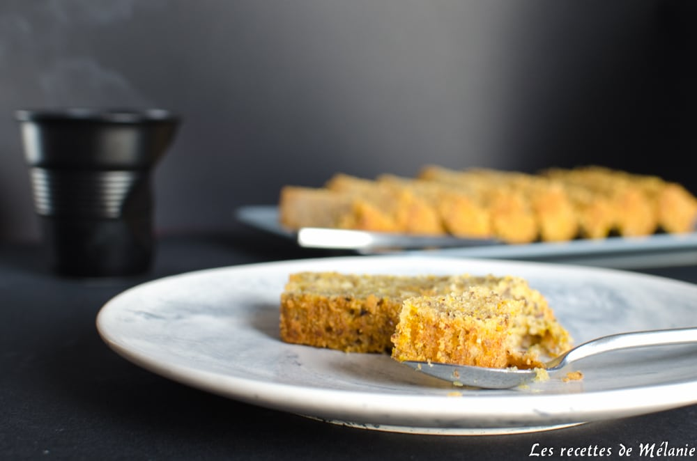 L'automne est arrivé: recette de cake au potiron et noisettes
