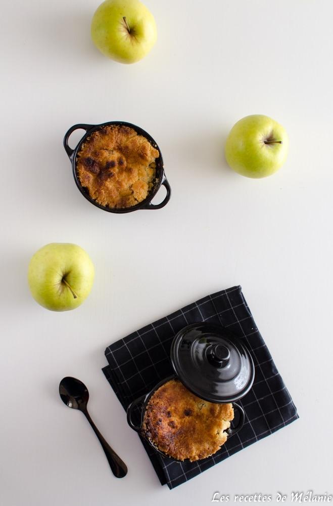 Ma recette de dessert de dépannage: crumble pommes/bananes