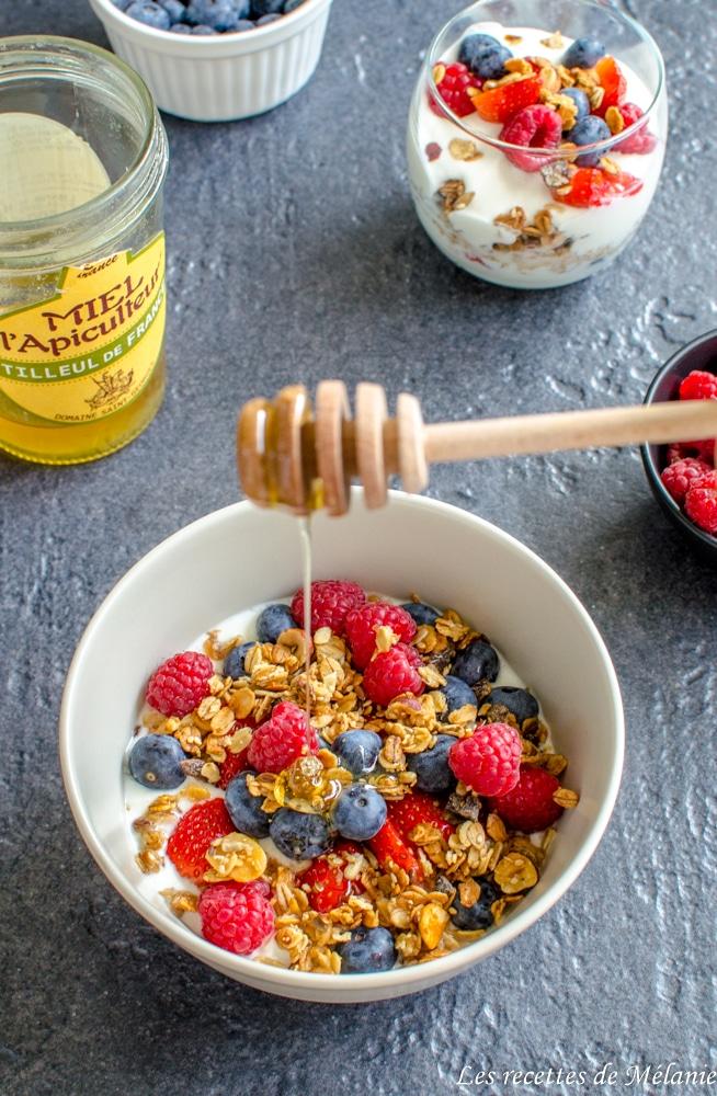 Recettes de petits déjeuners healthy