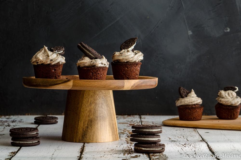 Cupcakes aux oreos