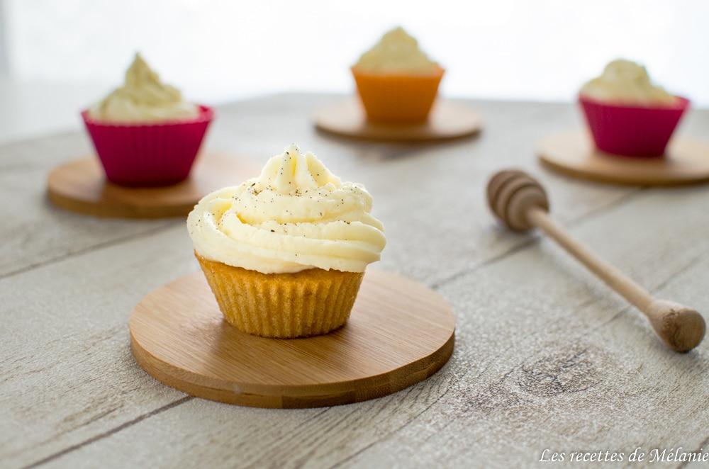Cupcakes à la courge butternut
