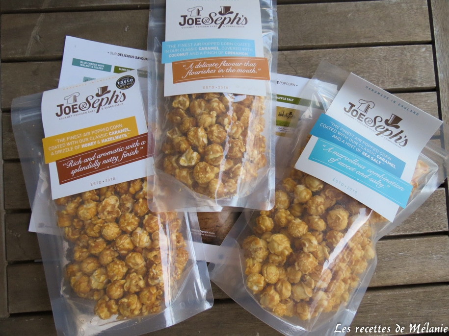 Popcorns de Joe&Seph's