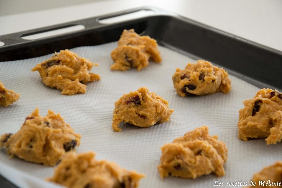 Recette de cookies à la patate douce