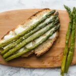Bruschetta d'asperges et mozzarella - Bataille Food #33