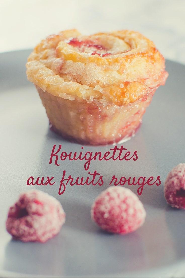 Kouignettes aux fruits rouges