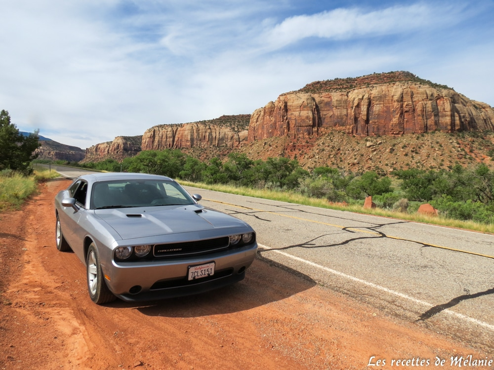 Road-trip dans l'ouest américain