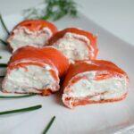 Roulé de saumon au chèvre et à la pomme - Battle Food #44