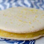 Macaron géant au citron - Foodista challenge #21