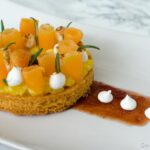 Tartelette de melon poché au romarin - Bataille food #36