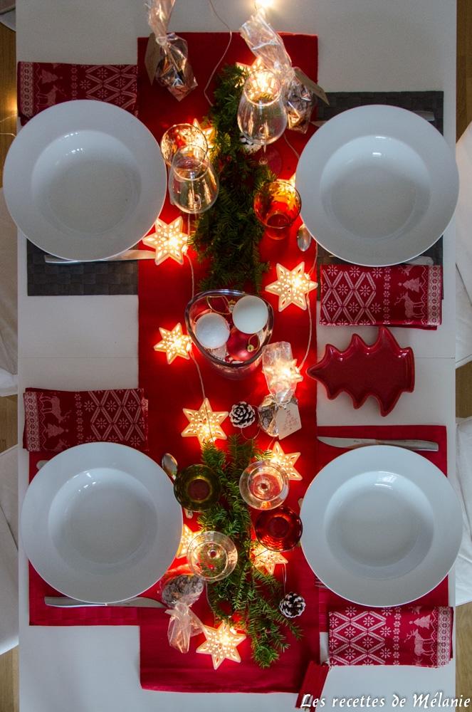 Une décoration de table pour Noël - Les recettes de