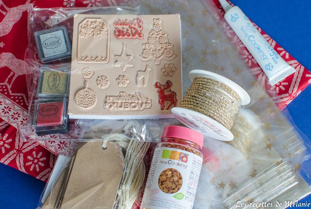 Idées de cadeaux gourmands pour Noël: matériel