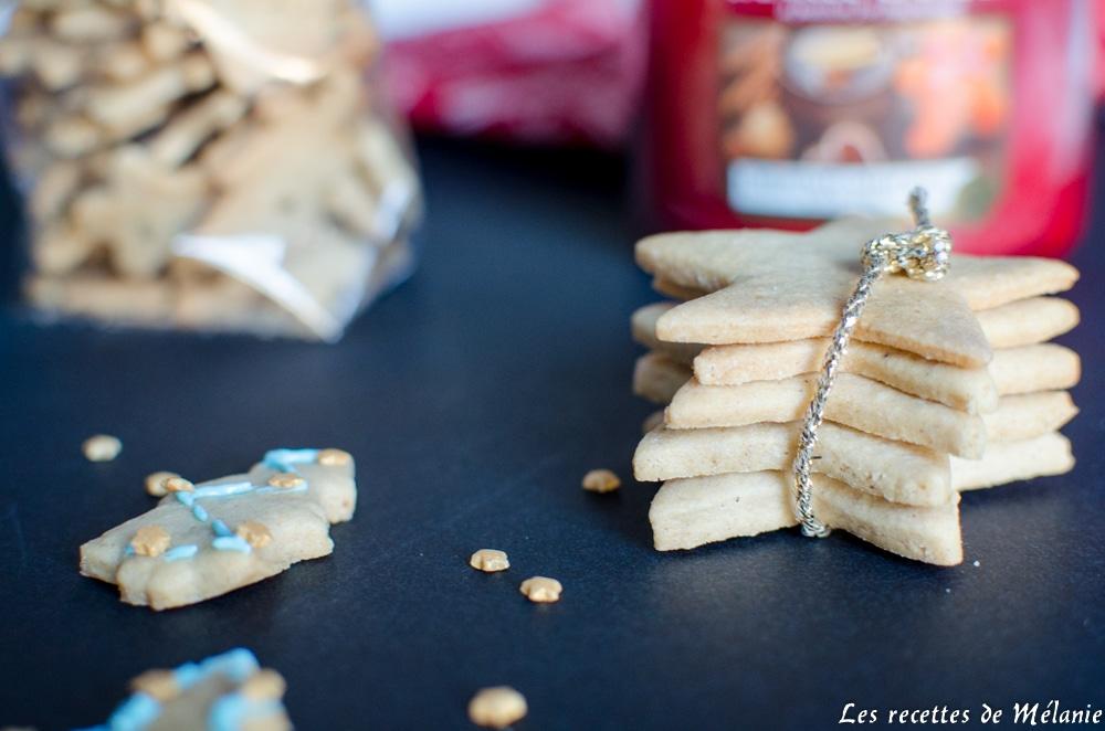 Idées de cadeaux gourmands pour Noël : sablés