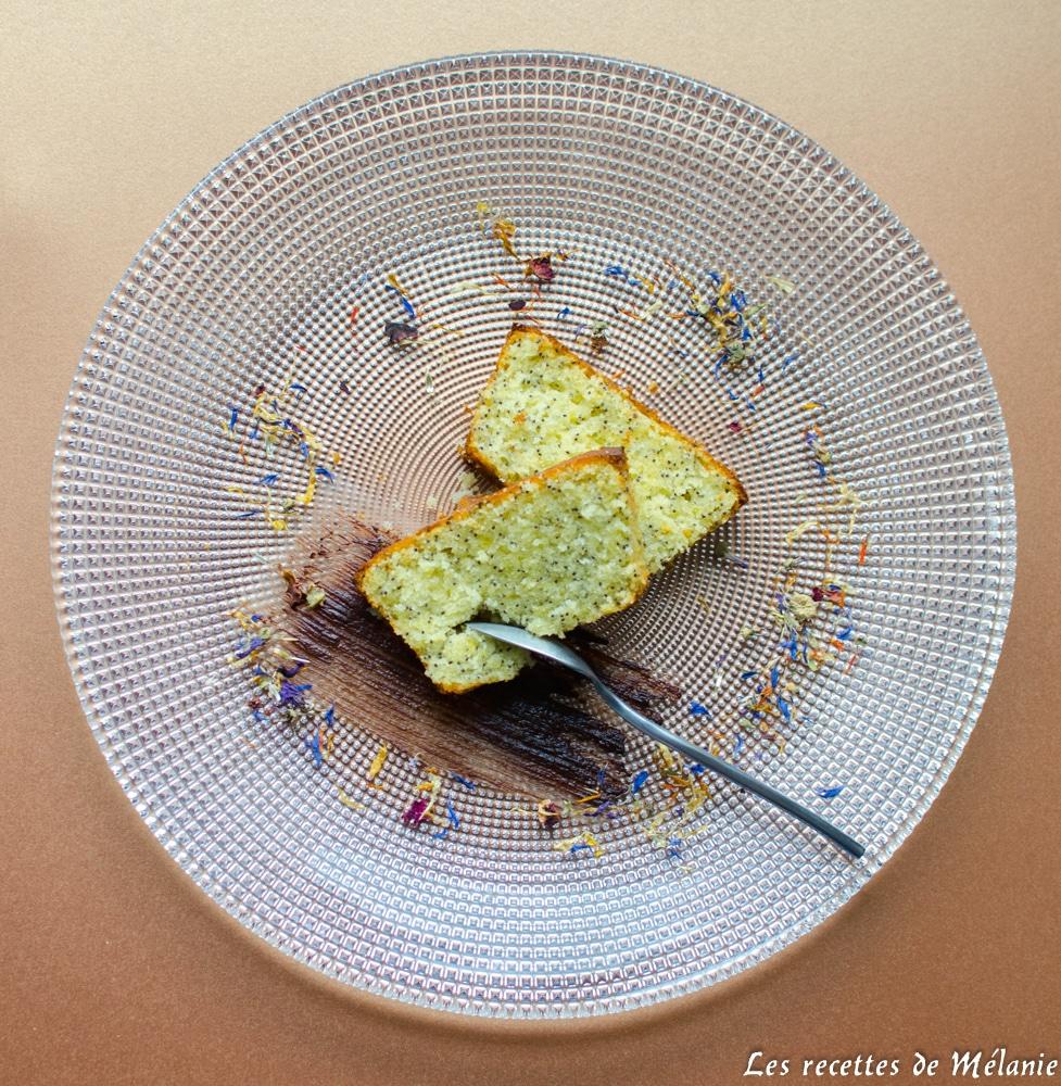 Cake au citron et au pavot