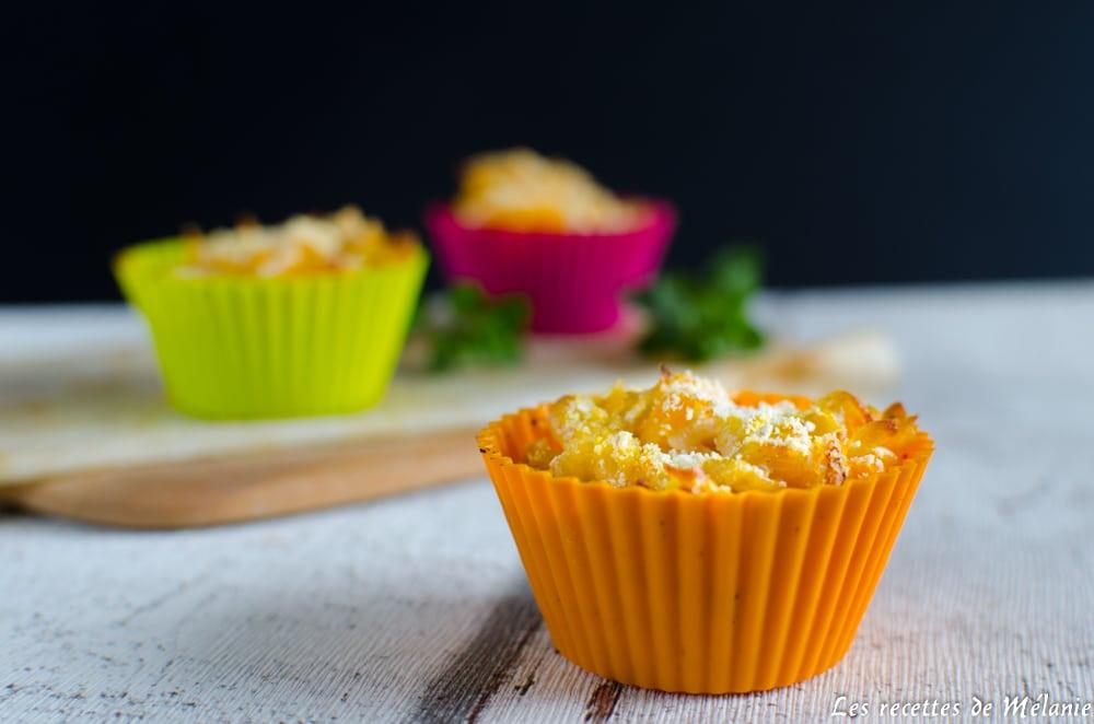 Mini Mac and cheese à la courge - Bataille food #43