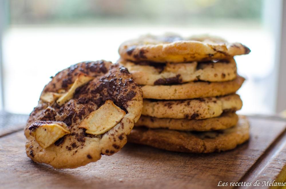 Cookies pomme/chocolat