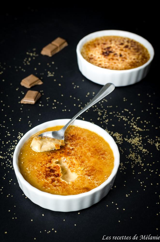 Crème brulée au chocolat praliné - Battle Food #51