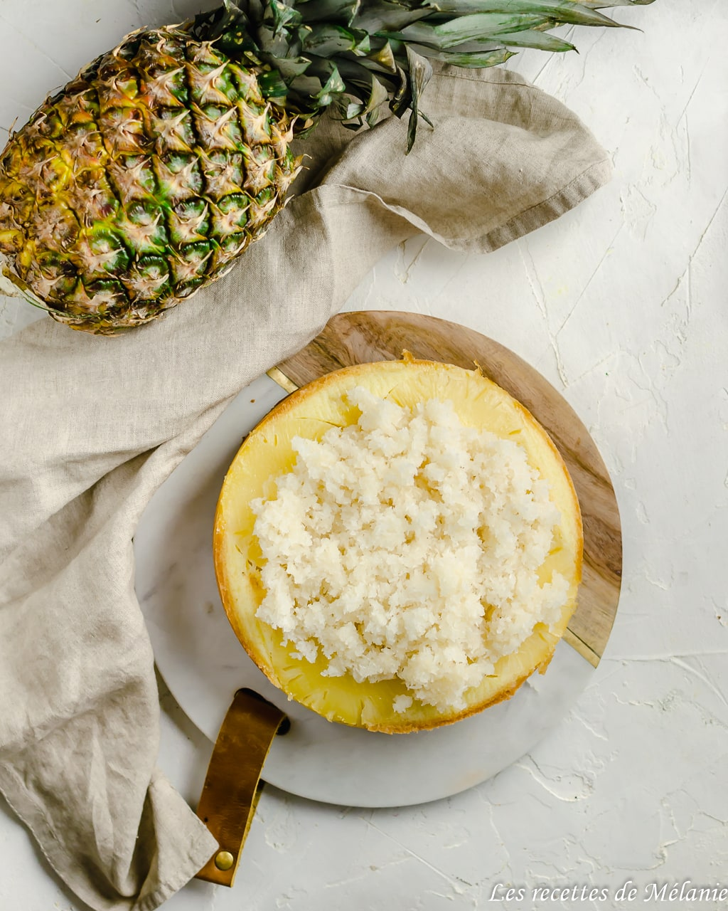 Moelleux à l'ananas