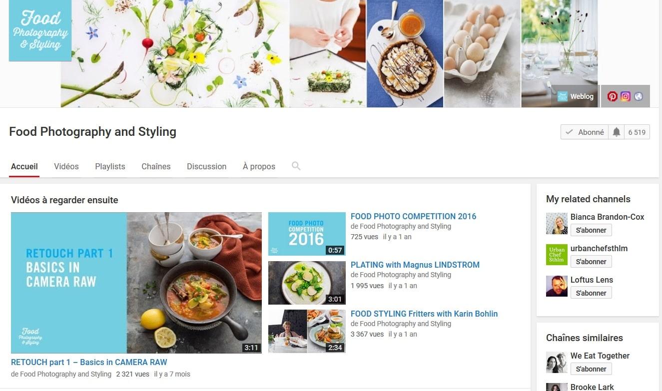 Mes sites préférés pour apprendre la photographie culinaire