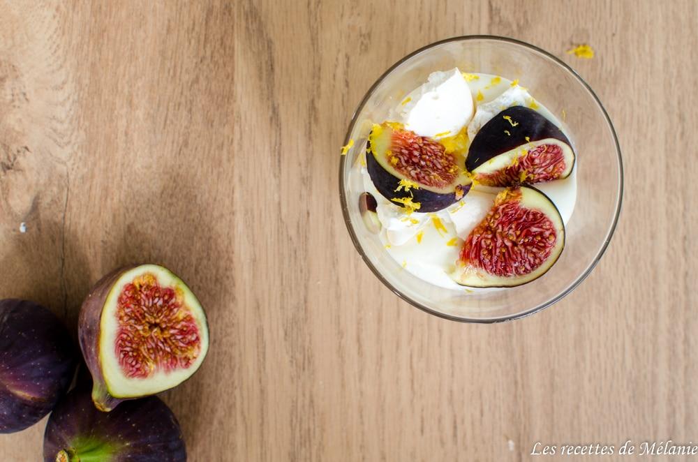 Eton mess à la figue et au citron