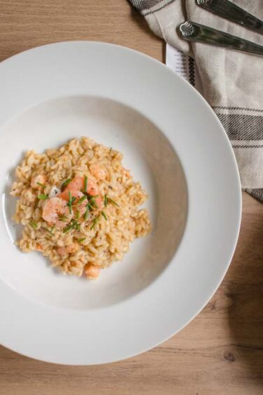 risotto-bisque