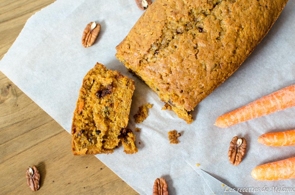 Carrot cake inspiré d'une recette de Philippe Conticini