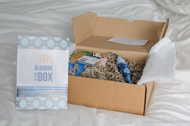 Test de la box Algarve in the box de février 2018