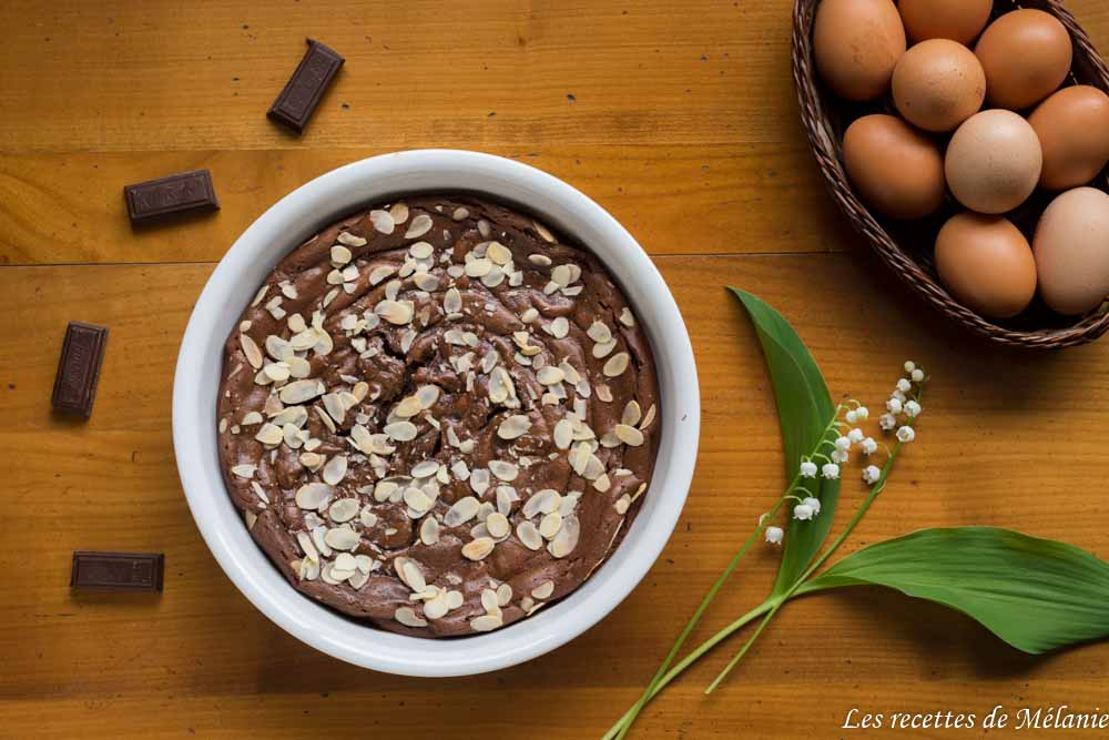 Gâteau au chocolat et à l'avocat