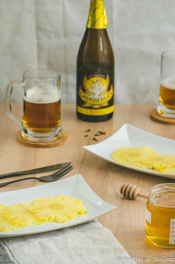 Accords mets et bière blonde - Les recettes de Mélanie