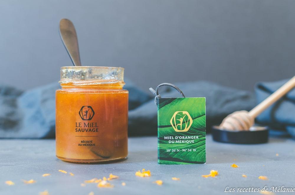 Saumon au miel et à l'orange