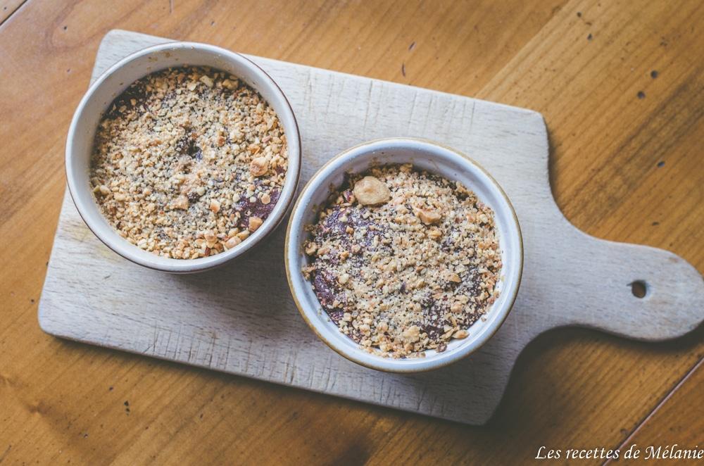 Brownie moelleux aux noisettes