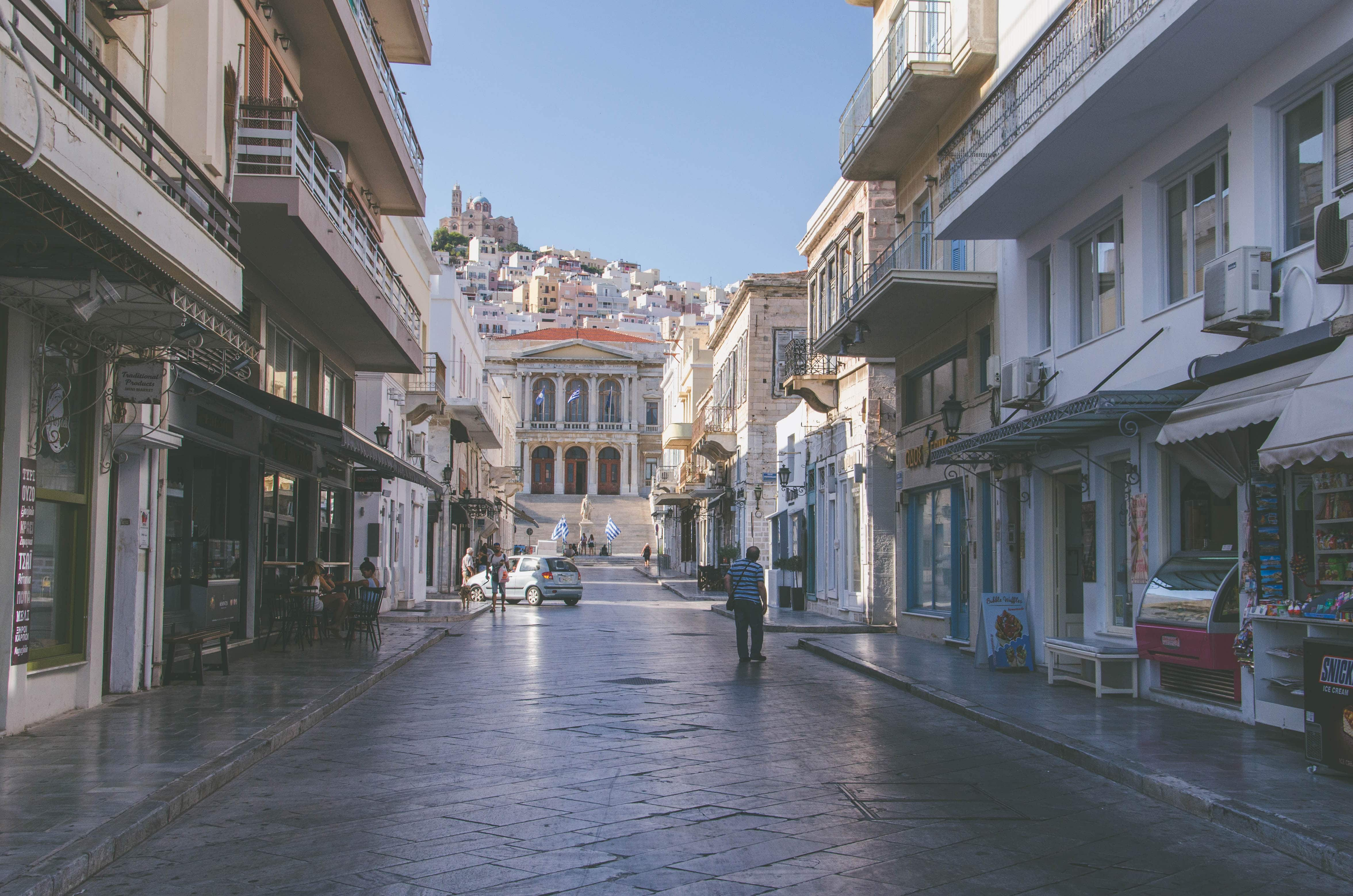 3 jours sur l'île de Syros - Cyclades