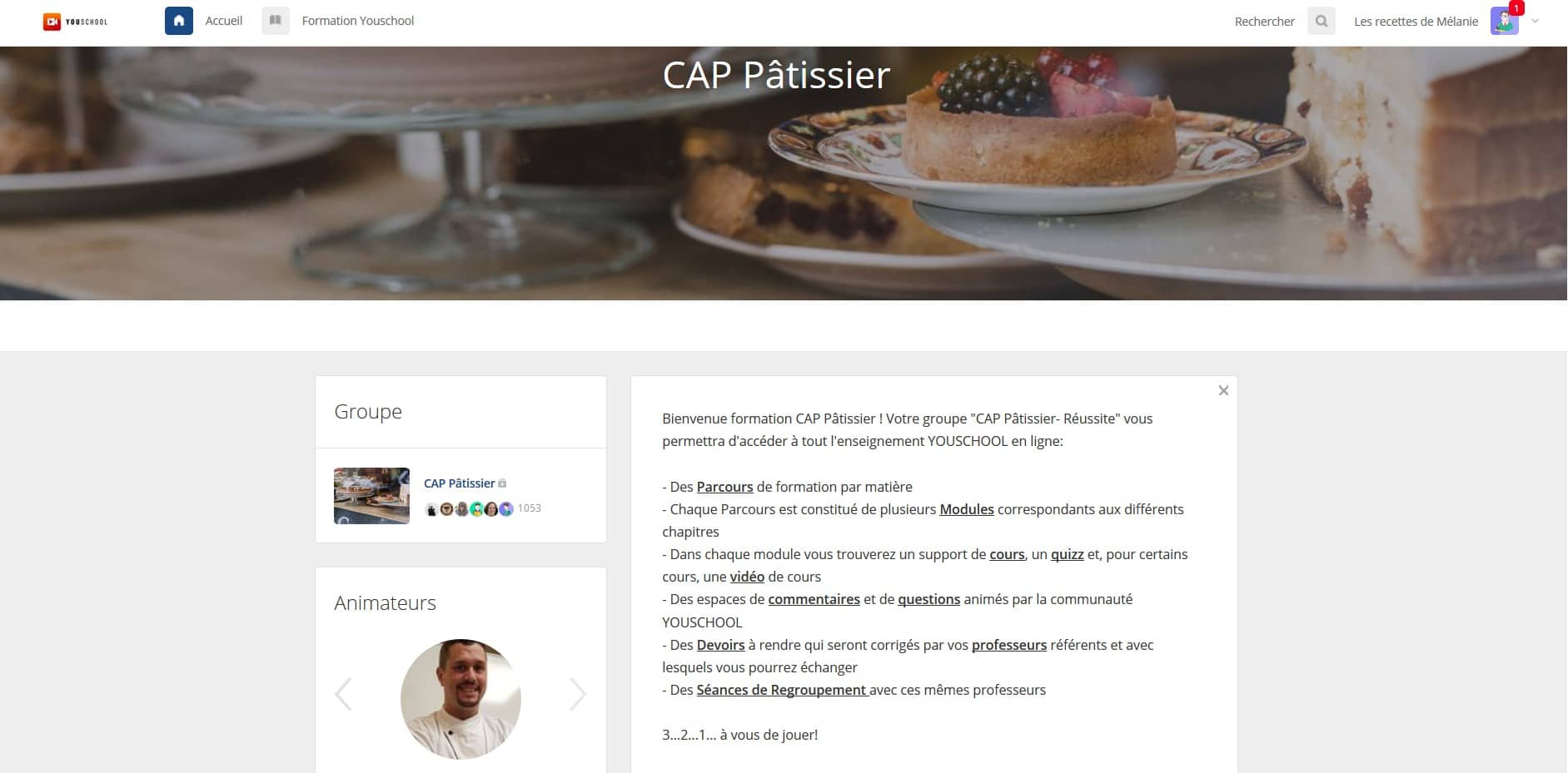 Passer son CAP pâtissier en ligne + recette tarte au citron