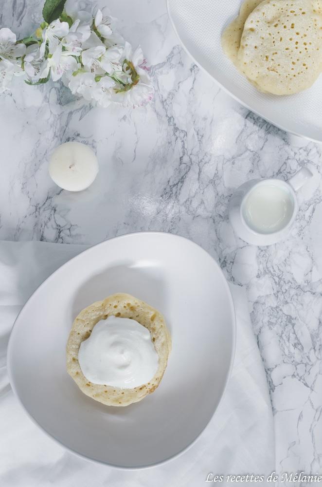 Crêpes mille trous pour mardi-gras