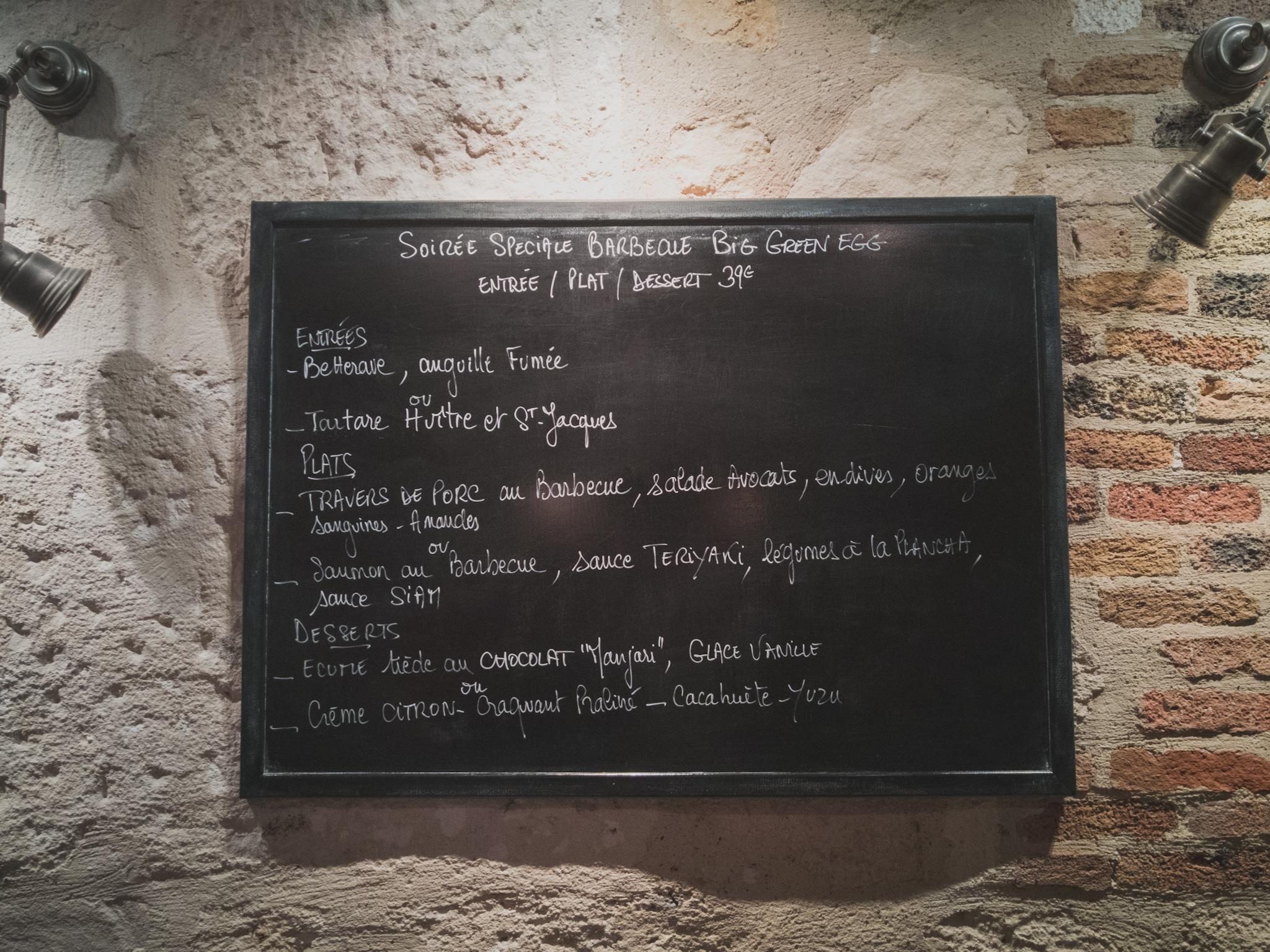 L'escient: un restaurant bistronomique de famille
