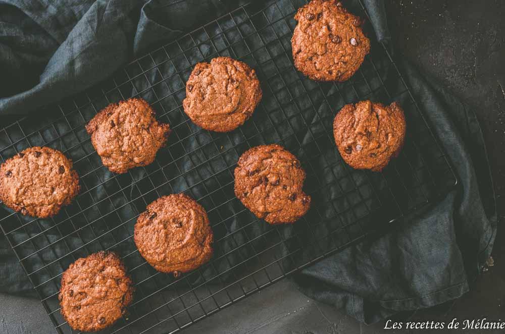 Cookies tout chocolat et piment d'Espelette