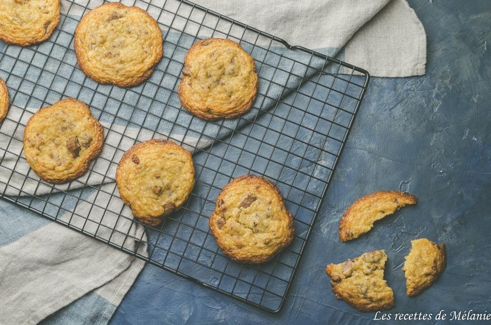 Cookies noix de pécan et praliné