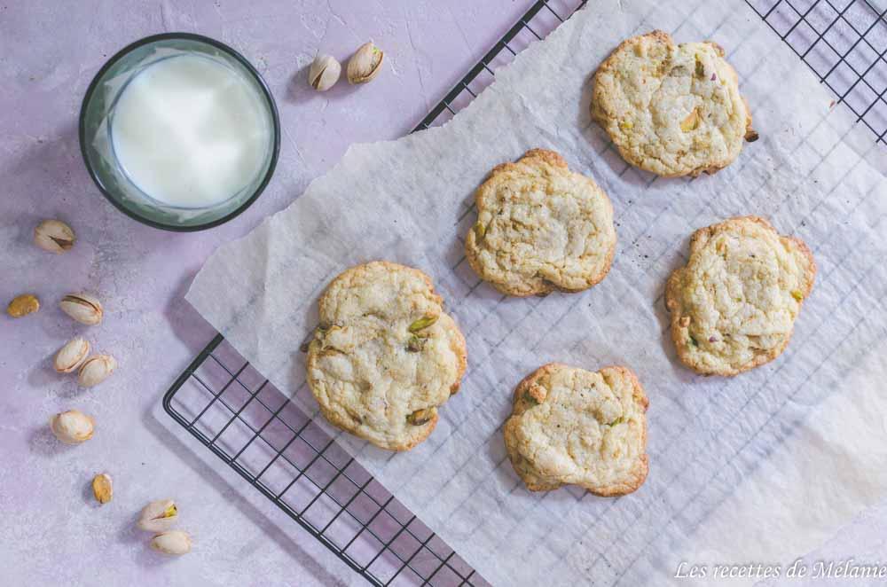 Cookies à la pistache