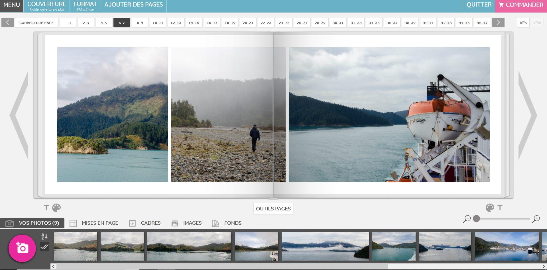 Créer son livre photo de voyage