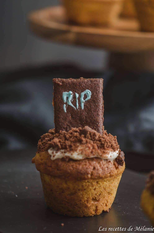 Muffins au potimarron pour Halloween