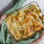 Lasagnes blettes et chèvre