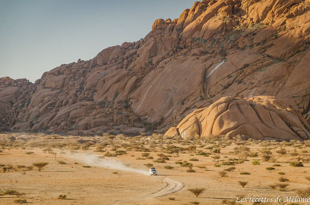 A la découverte de Spitzkoppe - Namibie