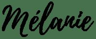 Signature les recettes de Mélanie