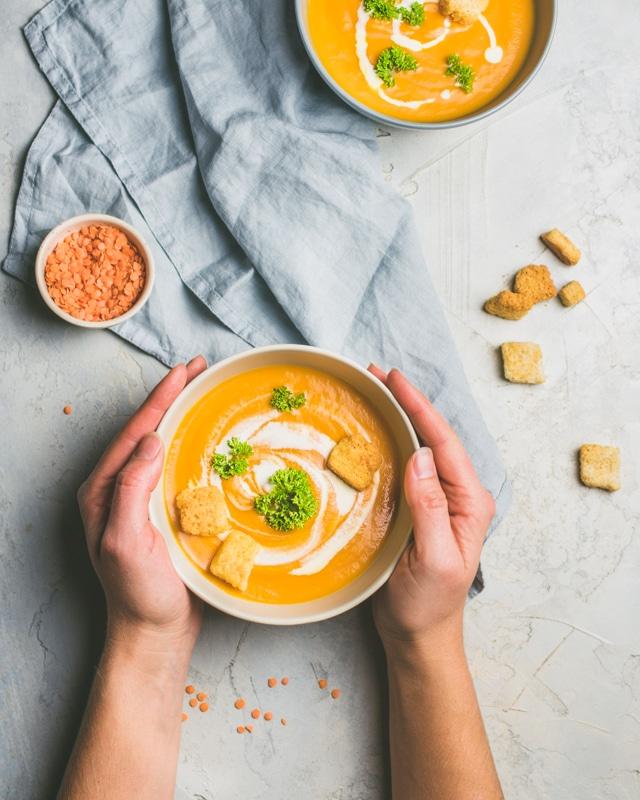 stylisme culinaire soupe
