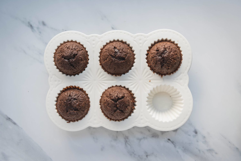 Cupcakes Menthe Chocolat pour la Saint-Patrick