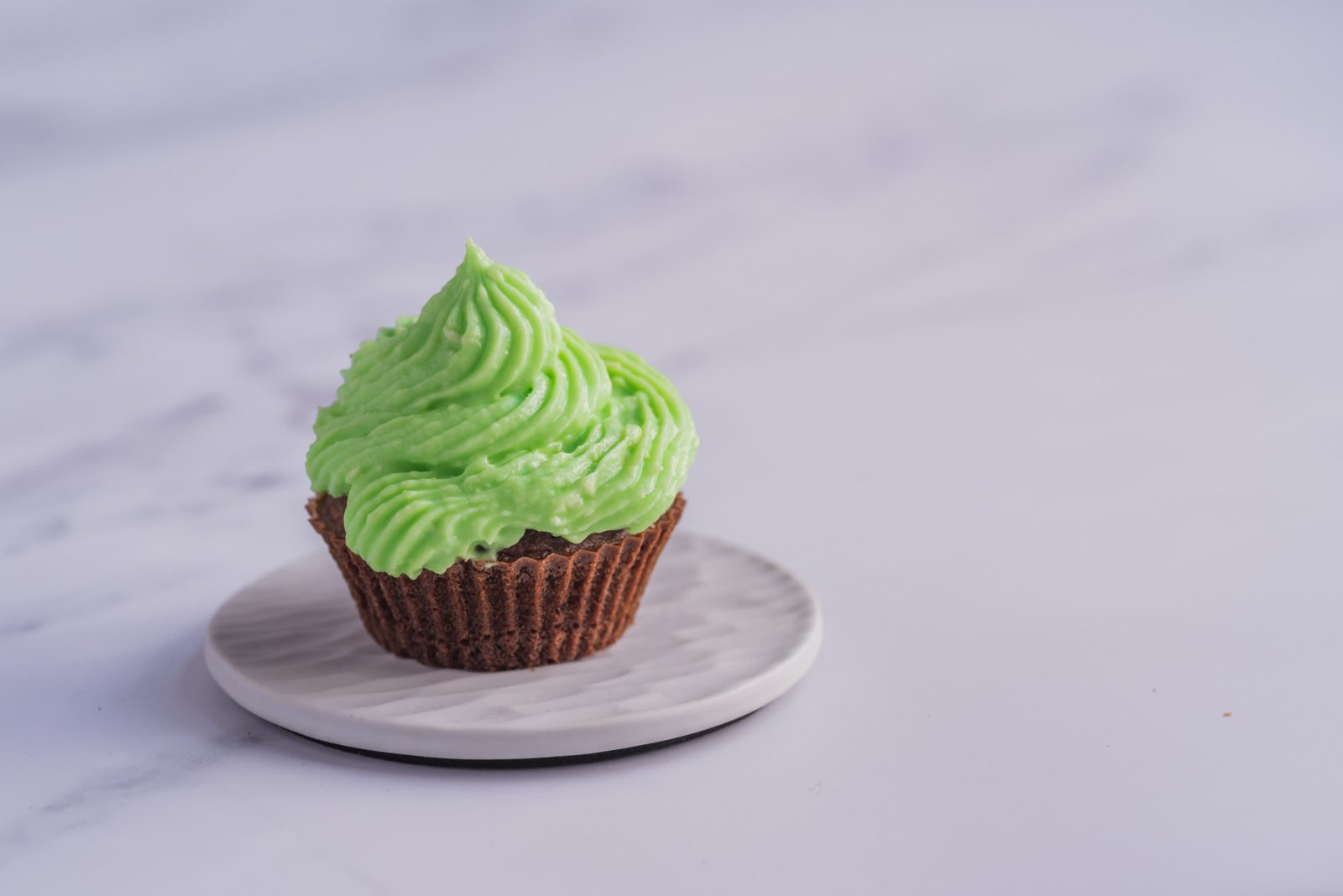glaçage menthe - food photography