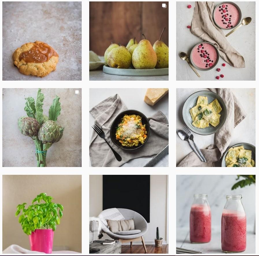 Instagram - planification Planoly - Les recettes de Mélanie
