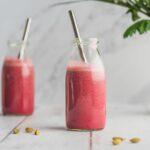 Latte à la betterave - Les recettes de Mélanie - photo culinaire