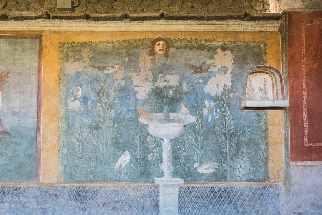 Durant ce week-end à Naples, nous avons visité Pompéi.