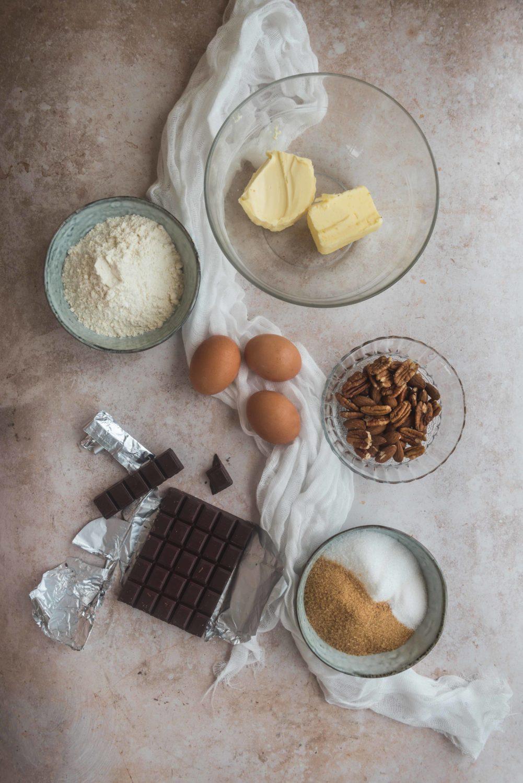 Les ingrédients de ce super brownie